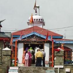 Tara Devi Temple in Shimla