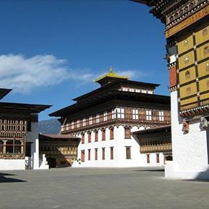 Tashichho Dzong (Thimphu Dzong) in Thimphu