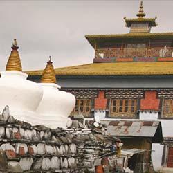 Tashiding Monastery in Gangtok
