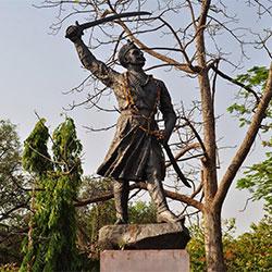 Tatya Tope Memorial Park in Shivpuri