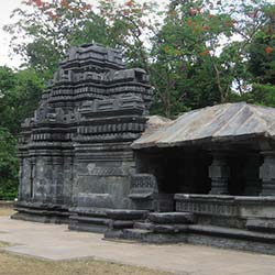 Temple of Shri Mahadev at Tambdi Suria in Goa