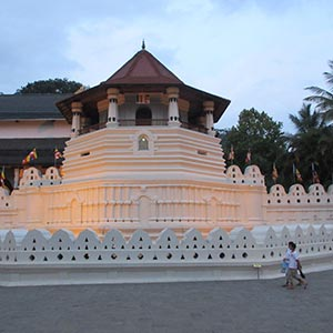 Temple of the Tooth (Sri Dalada Maligawa) in Kandy