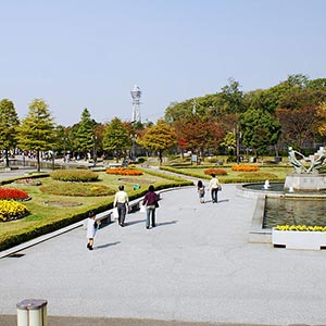 Tennoji Park in Osaka