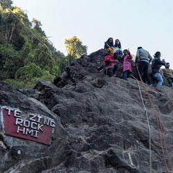 Tenzing Rock in Darjeeling