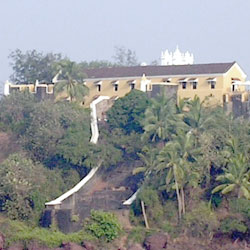 Terekhol Fort in Goa City