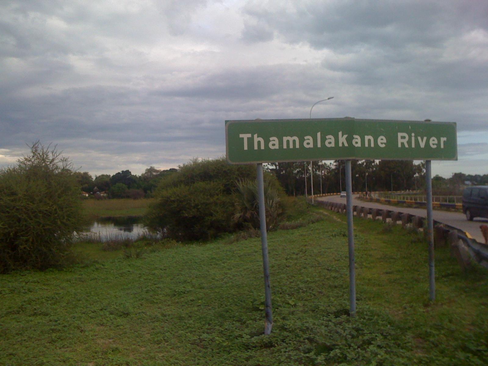 Thamalakane River in Maun