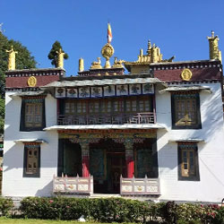 Tharpa Choling Monastery in Kalimpong
