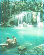 Erawan Waterfall in Kanchanaburi