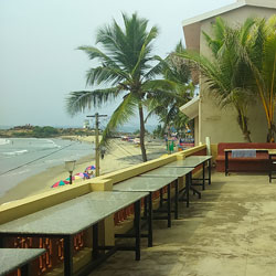 The German Bakery in Kovalam
