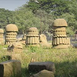The Kachari Ruins in Dimapur
