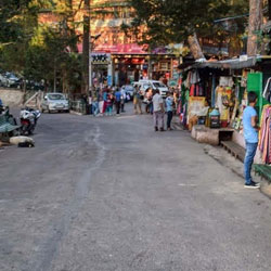 The Lower And Upper Mall in Kasauli