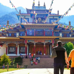 The Manali Gompa in Manali