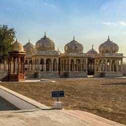 The Royal Cenotaphs in Bikaner
