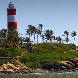 Thikkoti Light House in Kozhikode Calicut