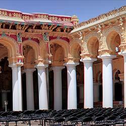 Thirumalai Nayakkar Mahal in Madurai