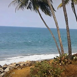 Thiruvambadi Beach in Varkala