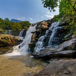 Thoovanam Falls in Munnar