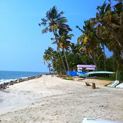 Thumpolly Beach in Alappuzha/Alleppey