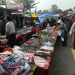 Tibetan Refugee Market in Bodhgaya