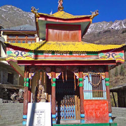 Tibetan Wood Carving Center in Sangla