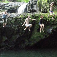 Togitogiga Falls in Upolu