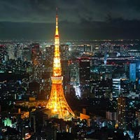 Tokyo Tower in Tokyo