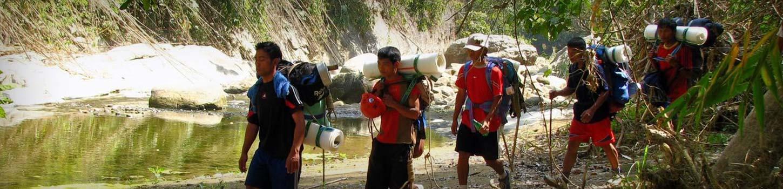 Trekking in Kohima