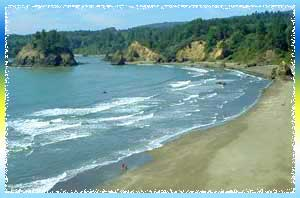 Trinidad Beach in