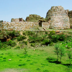 Tughlaqabad Fort in New Delhi