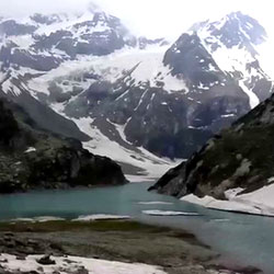 Tulian Lake in Pahalgam
