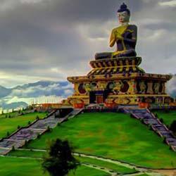 Tumlong Monastery in Ravangla
