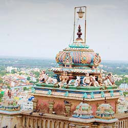 Ucchi Pillayar Temple in Trichy