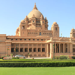 Umaid Bhawan Palace in Jodhpur