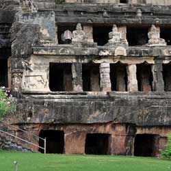 Undavalli Caves in Vijayawada