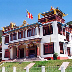Upper Gompa in Bomdila