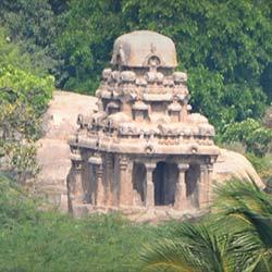 Valayankuttai Ratha in Mahabalipuram