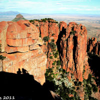 Valley Of Desolation in Eastern Cape