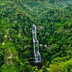 Vantawang Falls in Aizawl