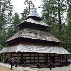 Vashisht Temple in Manali