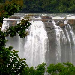 Vazhachal Falls in Thrissur