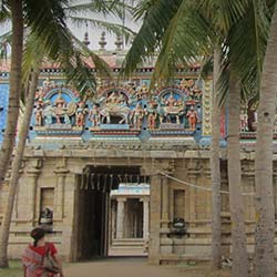 Vellai Puliar Temple in Thanjavur
