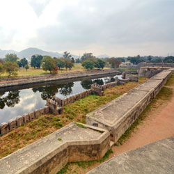 Vellore Fort in Vellore