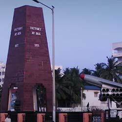 Victory At Sea Memorial in Visakhapatnam
