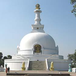 Vishwa Shanti Stupa in Vaishali