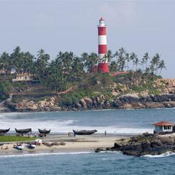 Vizhinjam Lighthouse in Trivandrum