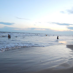 Vodarevu Beach in Prakasam