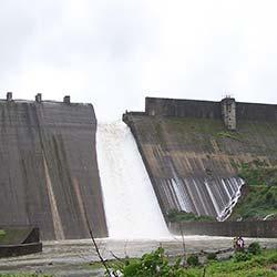 Walwan Dam in Lonavala