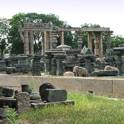 Warangal Fort in Warangal