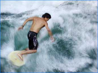 Watersports activty in Fuerteventura