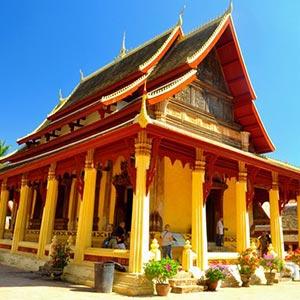 Wat Si Saket in Vientiane